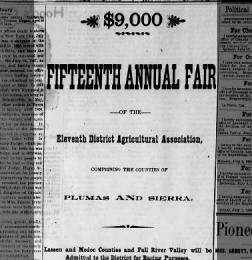 Feather River Bulletin from Quincy, California on July 19, 1894 · Page 1