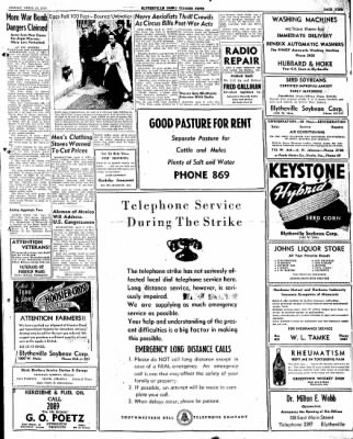 The Courier News from Blytheville, Arkansas on April 11, 1947 · Page 9