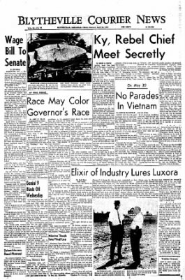 The Courier News from Blytheville, Arkansas on May 27, 1966 · Page 1