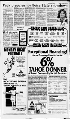 Reno Gazette-Journal from Reno, Nevada on November 5, 1979 · Page 16