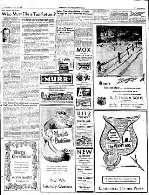 The Courier News from Blytheville, Arkansas on December 24, 1952 · Page 5