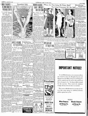 The Courier News from Blytheville, Arkansas on August 12, 1939 · Page 1