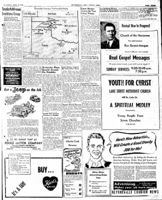 The Courier News from Blytheville, Arkansas on April 12, 1947 · Page 3