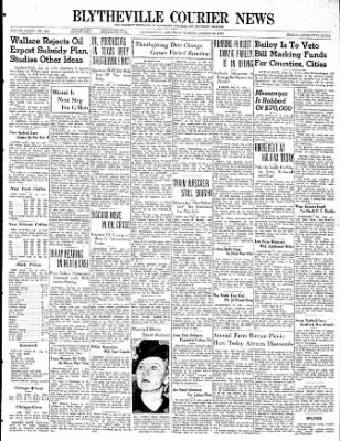 The Courier News from Blytheville, Arkansas on August 15, 1939 · Page 1