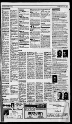 Reno gazette journal from reno nevada on february 28 1994 page 43 malvernweather Images
