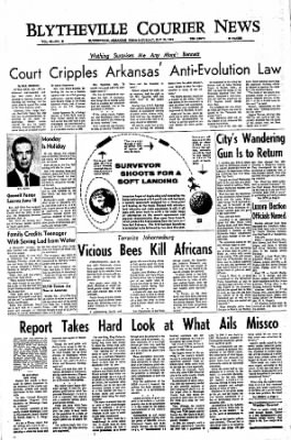 The Courier News from Blytheville, Arkansas on May 28, 1966 · Page 1