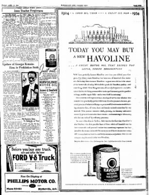 The Courier News from Blytheville, Arkansas on April 13, 1934 · Page 5