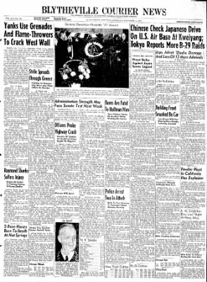 The Courier News from Blytheville, Arkansas on December 9, 1944 · Page 1