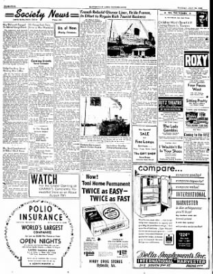The Courier News from Blytheville, Arkansas on July 25, 1949 · Page 4