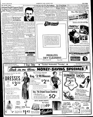 The Courier News from Blytheville, Arkansas on April 25, 1949 · Page 3