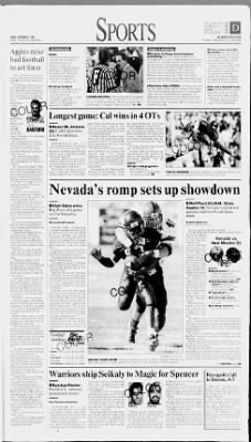 Reno Gazette-Journal from Reno, Nevada on November 3, 1996 · Page 49