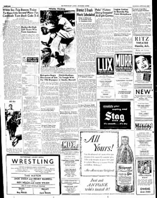 The Courier News from Blytheville, Arkansas on April 25, 1949 · Page 6