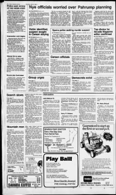 Reno Gazette-Journal from Reno, Nevada on April 5, 1986