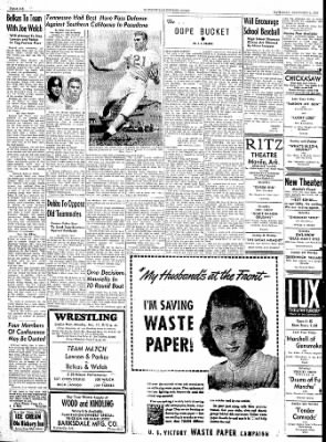 The Courier News from Blytheville, Arkansas on December 9, 1944 · Page 6
