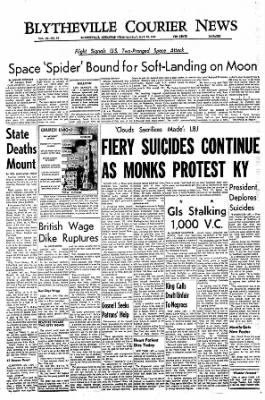 The Courier News from Blytheville, Arkansas on May 30, 1966 · Page 1