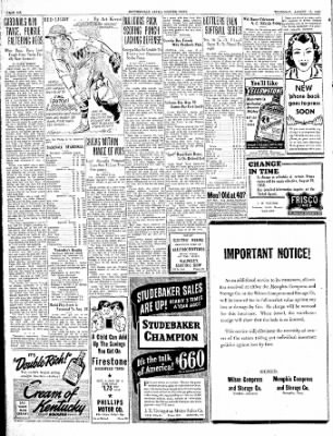 The Courier News from Blytheville, Arkansas on August 17, 1939 · Page 6