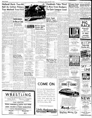 The Courier News from Blytheville, Arkansas on July 25, 1949 · Page 8