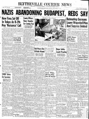 The Courier News from Blytheville, Arkansas on December 11, 1944 · Page 1