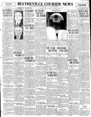 The Courier News from Blytheville, Arkansas on January 16, 1931 · Page 1