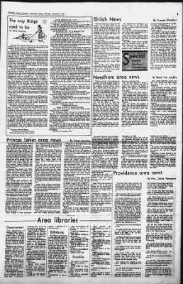 The Daily Journal from Franklin, Indiana on December 7, 1974