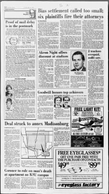 The Akron Beacon Journal from Akron, Ohio on May 19, 1988 · Page 21