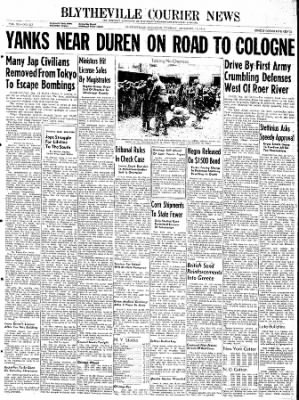 The Courier News from Blytheville, Arkansas on December 12, 1944 · Page 1