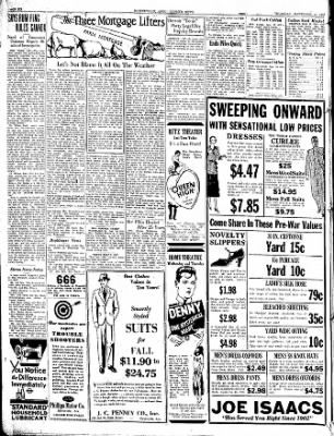 The Courier News from Blytheville, Arkansas on September 25, 1930 · Page 6