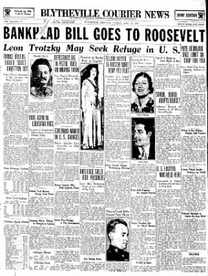 The Courier News from Blytheville, Arkansas on April 17, 1934 · Page 1