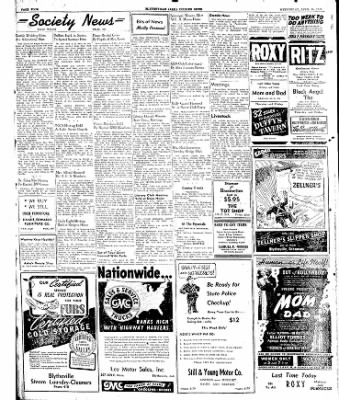 The Courier News from Blytheville, Arkansas on April 16, 1947 · Page 4