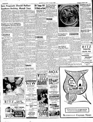 The Courier News from Blytheville, Arkansas on December 27, 1952 · Page 8