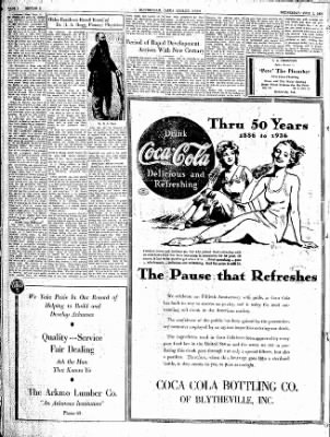 The Courier News from Blytheville, Arkansas on July 1, 1936 · Page 34