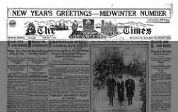 Masthead for Los Angeles Times' 1920 Midwinter Number