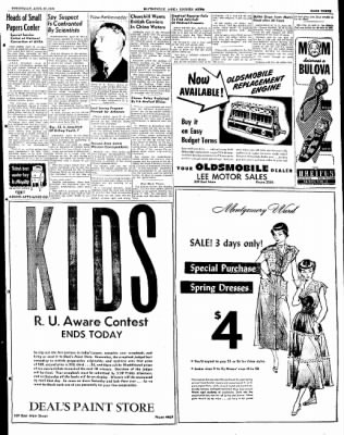 The Courier News from Blytheville, Arkansas on April 27, 1949 · Page 3