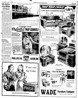 The Courier News from Blytheville, Arkansas on April 16, 1947 · Page 9