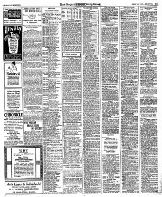 The Los Angeles Times from Los Angeles, California on July 14, 1921