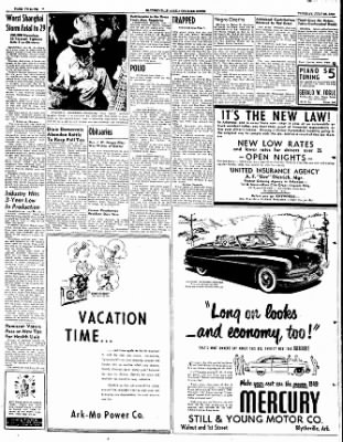 The Courier News from Blytheville, Arkansas on July 26, 1949 · Page 12