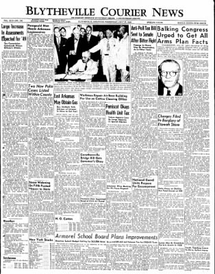 The Courier News from Blytheville, Arkansas on July 27, 1949 · Page 1