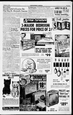 Albuquerque Journal from Albuquerque, New Mexico on November 17, 1958 · Page 7