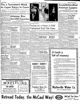 The Courier News from Blytheville, Arkansas on December 29, 1952 · Page 8
