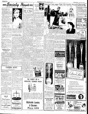 The Courier News from Blytheville, Arkansas on July 27, 1949 · Page 4