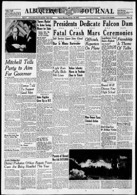Albuquerque Journal from Albuquerque, New Mexico on October 20, 1953
