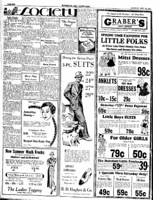 The Courier News from Blytheville, Arkansas on April 19, 1934 · Page 2