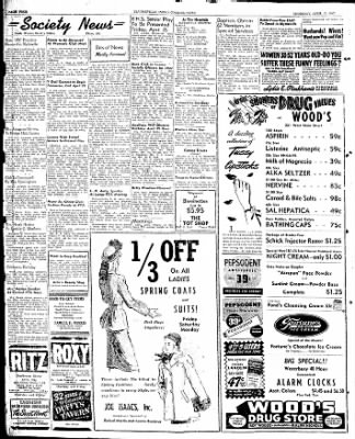 The Courier News from Blytheville, Arkansas on April 17, 1947 · Page 4