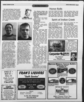The Daily Journal from Franklin, Indiana on January 23, 2001