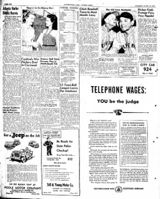 The Courier News from Blytheville, Arkansas on April 17, 1947 · Page 6