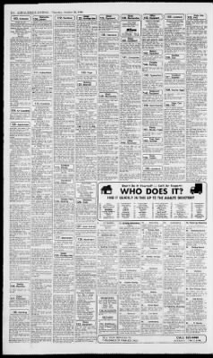 Albuquerque Journal From Albuquerque New Mexico On October 30 1986