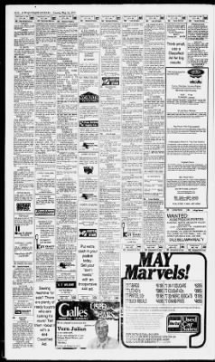 Albuquerque Journal From New Mexico On May 14 1978 Page 104