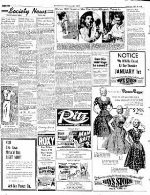 The Courier News from Blytheville, Arkansas on December 30, 1952 · Page 4