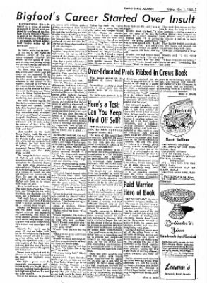 Idaho State Journal from Pocatello, Idaho on November 1, 1963 · Page 15
