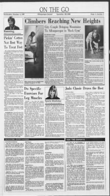 The largest online newspaper archive. Albuquerque Journal from Albuquerque, New  Mexico ...
